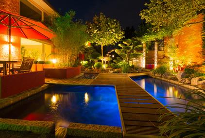 Perfekte-Gartenbeleuchtung