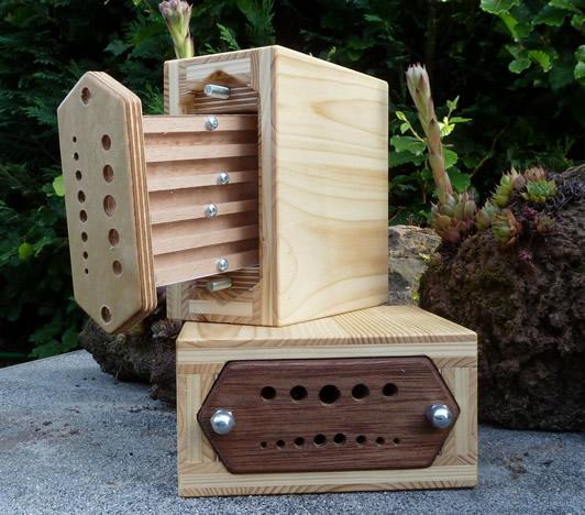 insektenhotel im garten bauen platzieren und gestalten. Black Bedroom Furniture Sets. Home Design Ideas