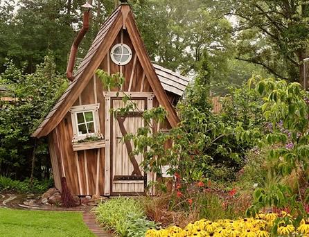Berühmt Gartenhaus gestalten und dekorieren - Aus Alt macht Neu LD33