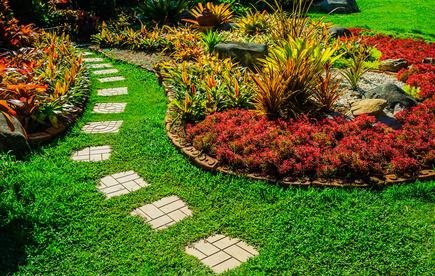 Gartenwege Gestalten Materialien Ideen Tipps